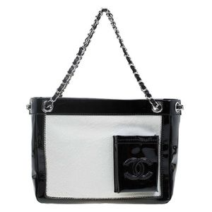 LIMITED EDITION Chanel Runway Ponyhair Patent Tote